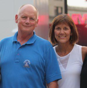 A photo of Jeff Ireland and Ellen Ireland