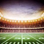 35575799 - light of american stadium