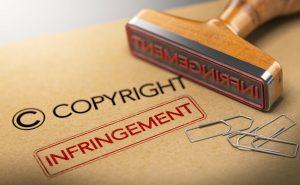 copyright infringement stamp