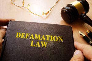 defamation law book