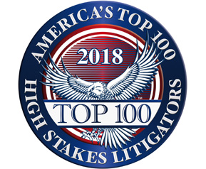 America's Top 100 High Stakes Litigations Emblem