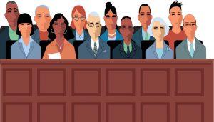 Illustration of a Jury