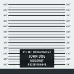 55936157 - police mugshot. police lineup background. vector illustration