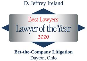 best lawyers_Jeff Ireland 2020 Lawyer of the Year