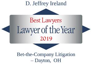 Jeff Ireland 2019 Lawyer