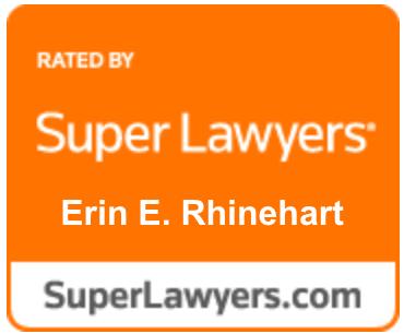 Super LawyersB adge ErinERhinehart